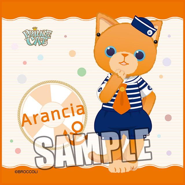 うたの☆プリンスさまっ♪ PRINCE CAT マイクロファイバーミニタオル マリンVer.「アランチャ」