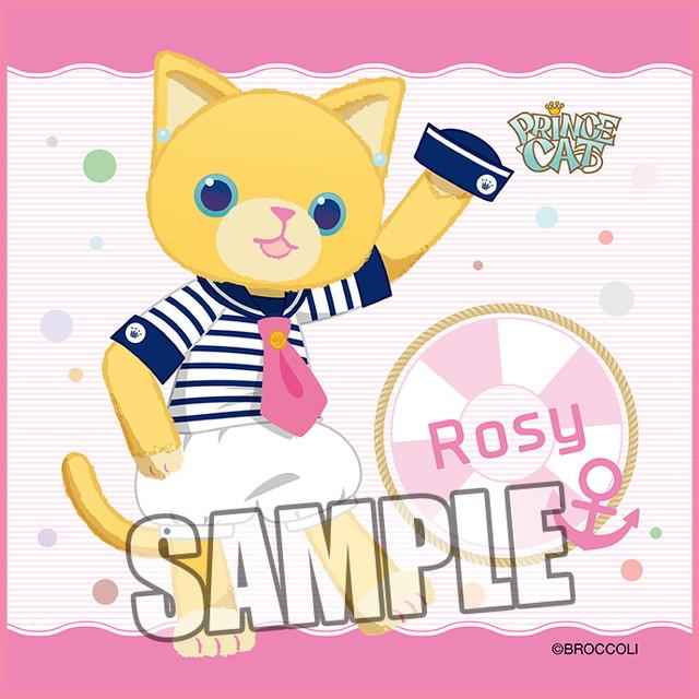 うたの☆プリンスさまっ♪ PRINCE CAT マイクロファイバーミニタオル マリンVer.「ロージー」