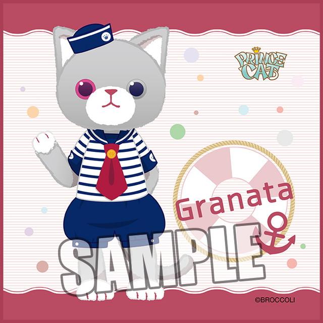 うたの☆プリンスさまっ♪ PRINCE CAT マイクロファイバーミニタオル マリンVer.「グラナータ」