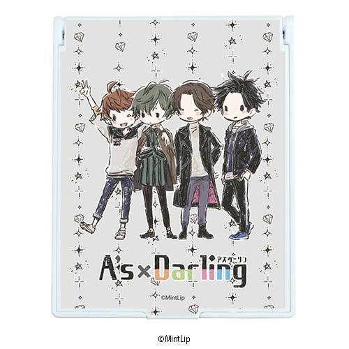 デカキャラミラー「A's×Darling」01/集合デザイン(グラフアート)