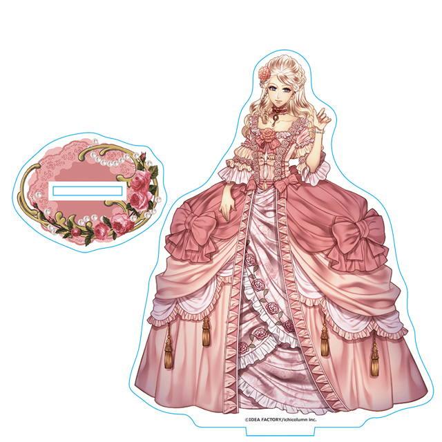 薔薇に隠されしヴェリテ アクリルスタンド13 マリー・アントワネット