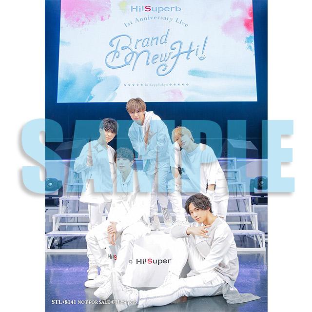 Hi!Superb 1st Anniversary Live -Brand New Hi!-☆特典付