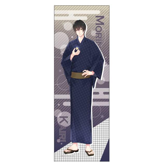 彼と添い寝でしたいコトぜんぶ スリムタペストリー07 森永海里 大阪出張店2020記念ver.