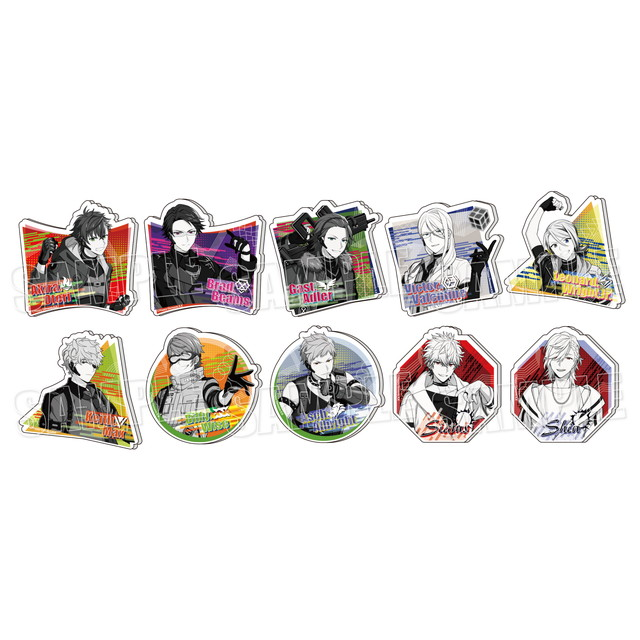 『エリオスライジングヒーローズ』モノトーンアクリルバッジ【Vol.1】