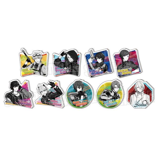 『エリオスライジングヒーローズ』モノトーンアクリルバッジ【Vol.2】
